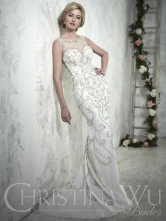 Christina Wu Bridal 15608 Christina Wu Bridal Collection Kimberly's Prom and Bridal Boutique - Tahlequah Oklahoma Prom Dresses, Tuxedo Rentals, Bridal and Wedding Gowns