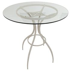 """People have always wondered what the future looks like. The SR-520/MJ-520 is just that: the look of tomorrow in a present-day product. Available in 36"""" counter or 40"""" bar height, this pub table is finished in a bronze powder coat, speckled yellow Mocha powder coat, off-white Sahara... more details available at https://furniture.bestselleroutlets.com/game-recreation-room-furniture/home-bar-furniture/bar-wine-cabinets/bar-tables/product-review-for-impacterra-mj-520-ba"""