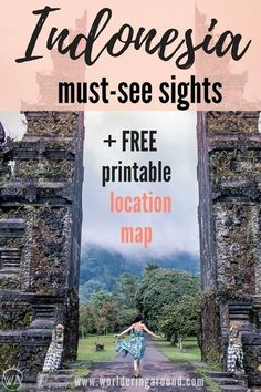 Indonesia must see sights, Indonesia 10 days travel itinerary, what to visit in Indonesia, Indonesia travel itinerary, Indonesia beautiful places, bucket list, Ubud, Bali, Java, Gili islands, Ijen, volcano, Bromo, Indonesia travel tips   Worldering around #indonesia #bali #asia #travel #itinerary #map