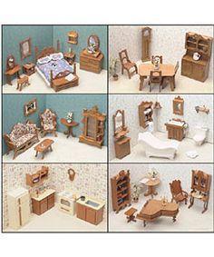 Six Room Dollhouse Kit