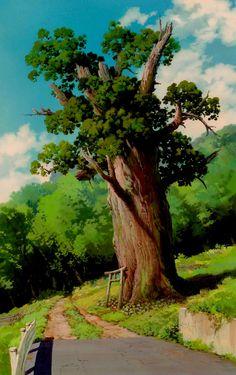 Cenários de A Viagem de Chihiro, do estúdio Ghibli   THECAB - The Concept Art Blog