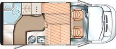 Solifer Action T 598 - bobil for 2 personer