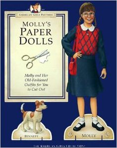 Molly's Paper Dolls an AMERICAN GIRL by Pleasant Company Publications, 1992: Front Cover