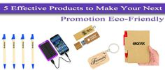 Few Effective Personalized Products to Make Brand Promotion Eco-Friendly