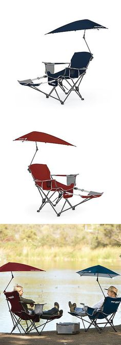 C&ing Furniture 16038 Beach Umbrella Chair Folding Canopy Cup Holder Picnic Seat Outdoor C&ing Sport -u003e BUY IT NOW ONLY $48.19 on eBay!  sc 1 th 236 : sports chair with umbrella - Cheerinfomania.Com