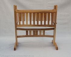 Heirloom Baby Cradle with Mortise and Tenon Construction - Limited Edition - Built to Order on Etsy, £1,520.79