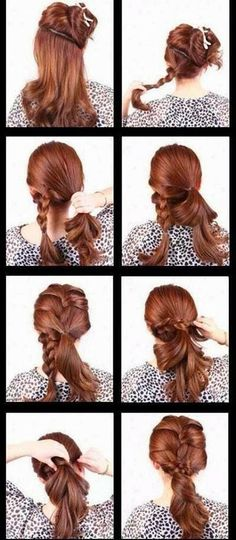motivational trends: Cute Hair Style for Ladies - Interesting, Easy, Suitable Type for Street Style