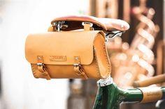 do roweru- Bicycle Leather Tool Bag