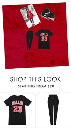 """Ball like jordan"" by saniah14 ❤ liked on Polyvore featuring adidas and Whistles"