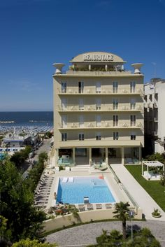 Hotel Beaurivage **** Cattolica, from 1957
