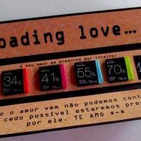 DIY: Loading Love – Versão Dia dos Namorados