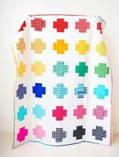 Cross My Heart: 7 Cross Quilt Patterns to Love