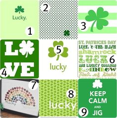 It's almost too bad we don't have St. Patrick's Day.. I really should use these.