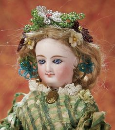 Home At Last - Antique Doll and Dollhouses: 321 Very Precious French Bisque Petite Smiling Bru by Leon Casimir Bru,Size A