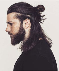 Contemporary Ideas Of Samurai Hair For Significant Looks - Contemporary Ideas Of Samurai Hair For Significant Looks Menshaircuts Top Knot Ef B F Long Hairstyles For Men Can Look Outstanding If The Hair Is Styled In The Proper Way Man Bun Braids Half Widows Peak Hairstyles, Loose Hairstyles, Hairstyles Haircuts, Long Hairstyles For Men, Braid Hairstyles, Straight Hairstyles, Drawing Hairstyles, Formal Hairstyles, Pretty Hairstyles
