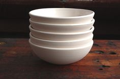 Everything Bowl in White by clamlab on Etsy