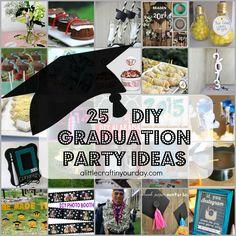 25 DIY Graduation Party Ideas - A Little Craft In Your DayA Little Craft In Your Day