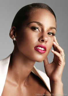 d477e810de46 BrownQueen Magazine  Alicia Keys Named New Face of Parfums Givenchy