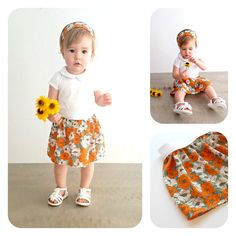 Check out this item in my Etsy shop https://www.etsy.com/listing/238952263/floral-baby-skirt-toddler-skirt-girls