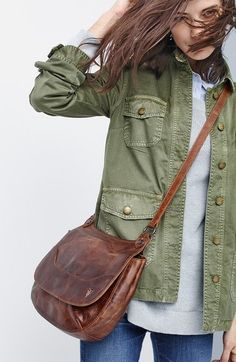 Frye 'Melissa' Leather Crossbody Bag available at #Nordstrom
