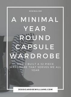 Capsule Wardrobe | How To Build A Capsule Wardrobe | Minimal Style
