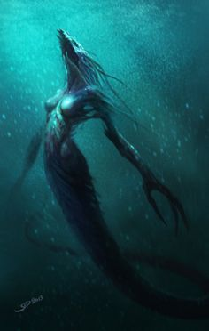 Mutant Mermaid by SID75 on deviantART