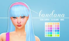"holosprite: "" ""Anto's Taylor hair clayified 