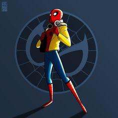 Spider-Man Homecoming by @phernandezart