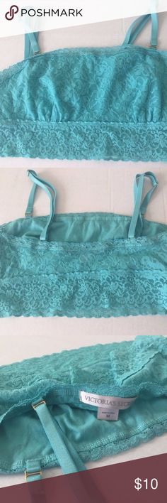 Victoria's Secret Bralette Size medium.  Great condition!  Adjustable straps.  Lace design. Slight stretch. Victoria's Secret Intimates & Sleepwear Bras