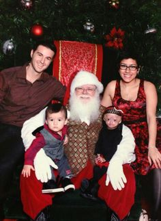 Christmas with Adalia Rose and family.