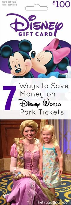 Tips & tricks to save money on tickets to Walt Disney World. Theme park tickets are expensive so saving money on them is essential!