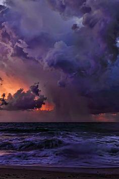 Florida Coastal Storm   By Ken Cave