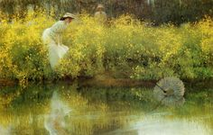 "Arthur Hacker (1858-1919), ""In Jeopardy"", 1902 