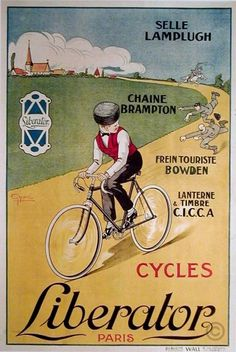 Cycles Liberator poster by Gype