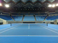 La Margaret Court Arena et son toit rétractable opérationnel pour l'édition 2015.