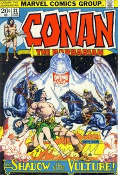 Cover for Conan the Barbarian (Marvel, 1970 series) #22