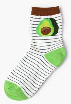 Avocado Sock - Sock Season by BKBT