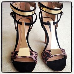 Can never have too many animal print pumps.