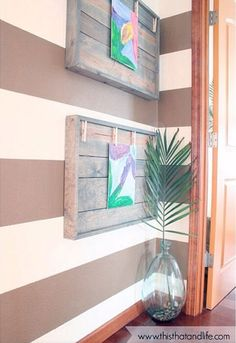 How to Display Kids' Artwork - DIY Art Display Ideas - Country Living
