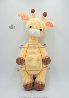 Marvelous Image of Crochet Giraffe Pattern Marvel… – Amigurumi Free Pattern İdeas. Crochet Giraffe Pattern, Crochet Amigurumi Free Patterns, Crochet Pony, Cute Crochet, Amigurumi For Beginners, Giraffe Toy, How To Start Knitting, Crochet Gifts, Amigurumi Doll