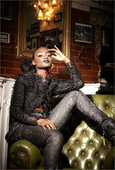 Ghana Fashion & Design Week reveals its 2012 London Campaign on Vogue Black Italia featuring the KORLEKIE collection by Ghanaian-British Designer Beatrice Korlekie Newman in collaboration with Brazilian Shoe label, Studio TMLS.