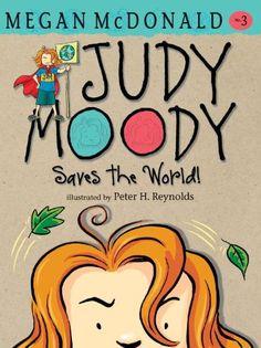 Judy Moody Saves the World! by Megan McDonald http://www.amazon.com/dp/0763648590/ref=cm_sw_r_pi_dp_iDFzvb1NTAJTQ