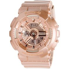 Baby-G Rose gold. It's perfect for any ocassion..