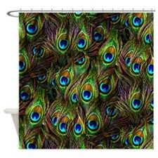 Stunning Peacock Feather Shower Curtains for your bathroom decor. Sale and online discounts. Also a collection of cheap ones under $50.