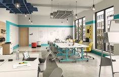 Physical space must support co-learning, co-creation and open discussion to fully capitalize on the benefits of active learning.