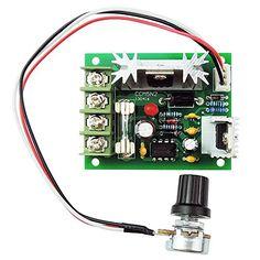 Unique Goods - 12V 24V 30V 5A DC Motor Speed Controller Adjustable Variable Speed Governor PWM 120W Speed Driver Control CCM5 DC motor speed controller http://www.amazon.com/dp/B00QIFA79K/ref=cm_sw_r_pi_dp_3QVjwb1TQYEK9