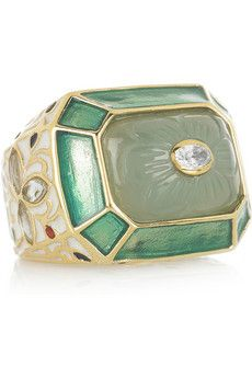 Shop for Jaisel gold-plated chalcedony ring by Isharya at ShopStyle. Jewelry Rings, Jewelery, Jewelry Accessories, Vintage Rings, Vintage Jewelry, Bijou Box, Isharya, Royal Jewels, Discount Designer Clothes