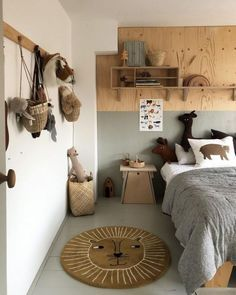 Bedroom Design And Decoration Tips And Ideas - Top Style Decor Cool Kids Bedrooms, Boys Bedroom Decor, Decor Room, Boy Bedrooms, Childs Bedroom, Boy Decor, Bedroom Ideas, Desk For Girls Room, Boy Room