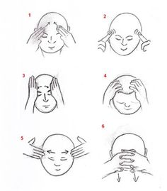 Head and face Qigong exercises
