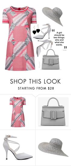 """""""T-Shirt Dress"""" by ragnh-mjos ❤ liked on Polyvore featuring Missoni, Boyy and Fat Face"""